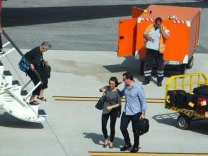 Luigi Wewege arriving in Italy